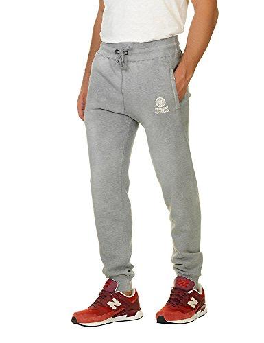 Franklin & Marshall Men's Fleece Pants Men's Trackpants In Grey In Size M Grey