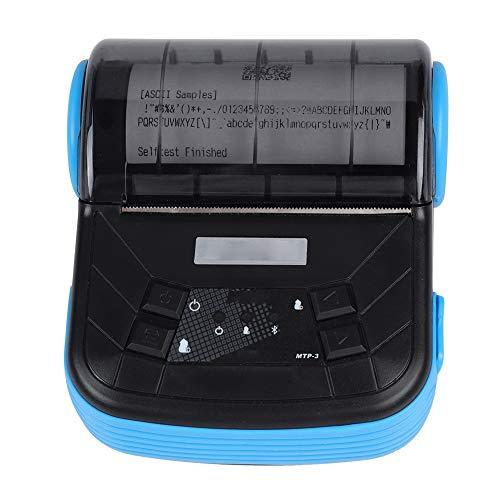 Bewinner Mini-USB-Wireless-Thermo-Rechnungsdrucker, tragbarer 80-mm-Thermobondrucker für iOS/Android, weit verbreitet in Supermärkten, Einkaufszentren, Restaurants(EU)