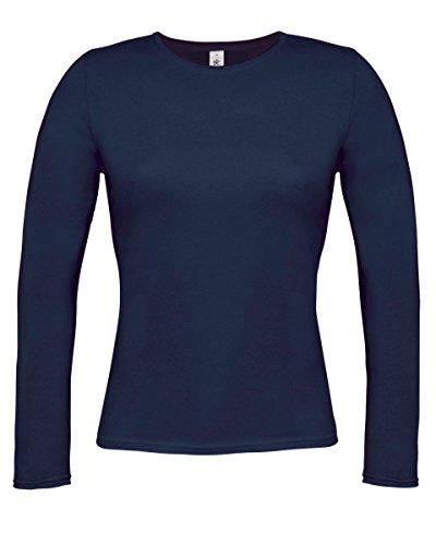 B & C Collection pour femmes seulement à manches longues Navy blue