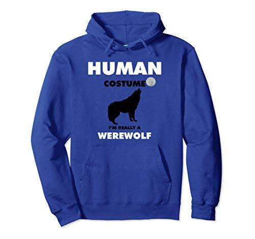 Im Really A Werewolf-Halloween-Kostüm-Pullover Pullover - Werwolf Hoodie Kostüm