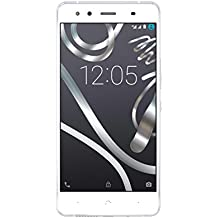 "BQ Aquaris X5 - Smartphone de 5"" (WiFi, Bluetooth 4.0, 2 GB de RAM, 16 GB de memoria interna, Android 5.1 Lollipop) blanco"