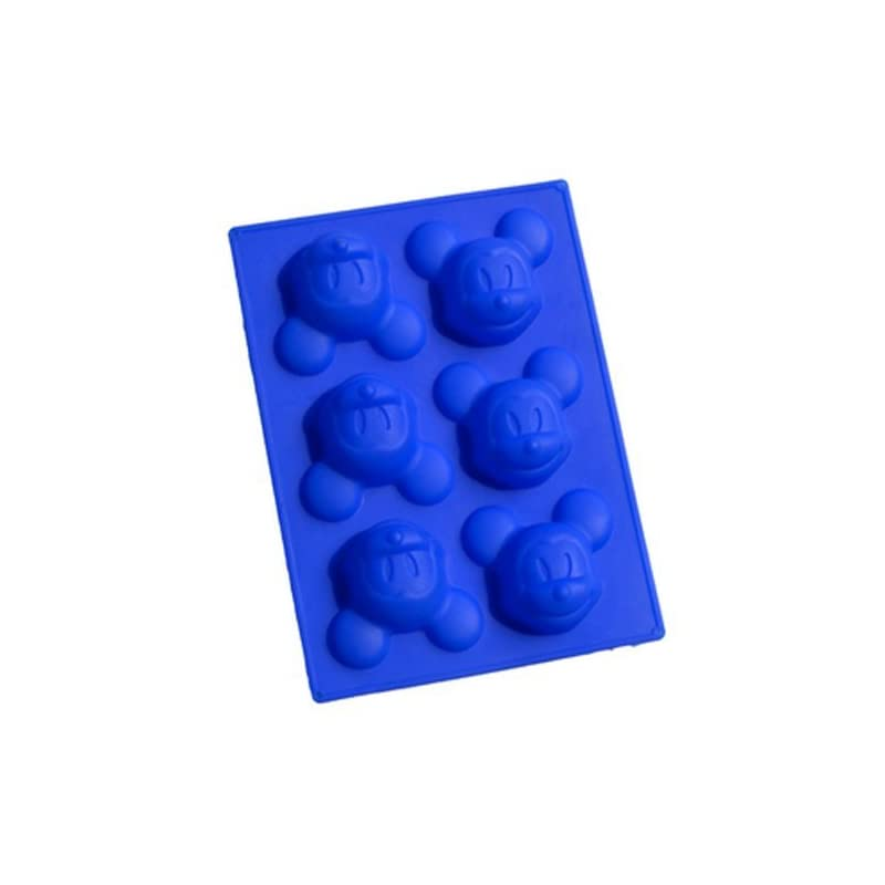 6 Even Mickey Silicone Baking Mould Cake Molds By Yuzhou