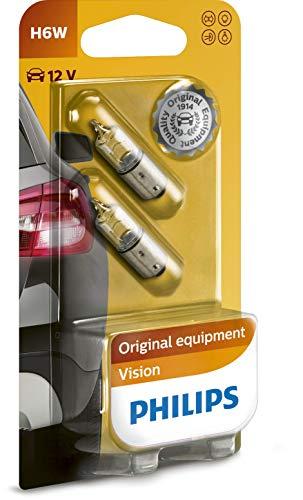 Philips 12036B2 Glassockellampe Vision, H6W