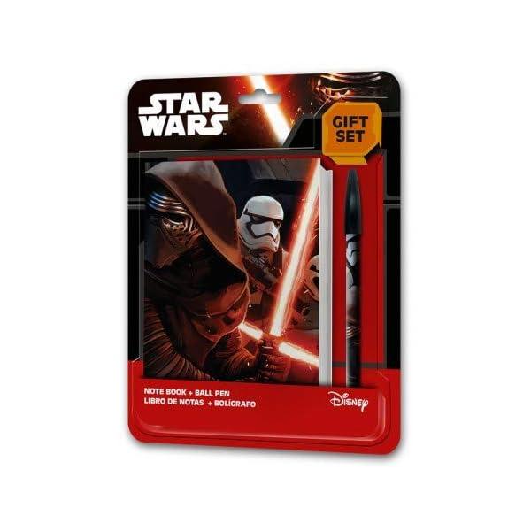 9943, Pack Star Wars, Compuesto por portameriendas Escolar Star Wars; portatodo Plano Star Wars con utiles Escolares…