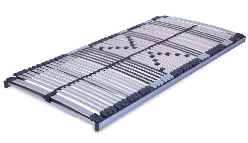 MSS 700110-200.140.7 7 Zonen-Lattenrost Trioflex NV starr, Gr. 140 x 200 cm, 44 Leisten, mittelgurt, Nicht verstellbar