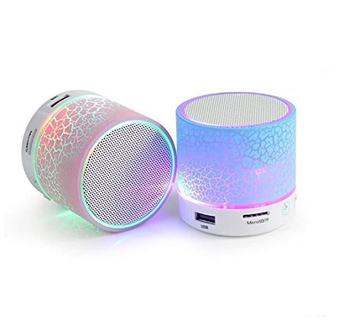 Lambent Mini Bluetooth LED Wireless Speaker Portable Audio Player, audio from TF card For Karbonn K9 Smart  available at amazon for Rs.239