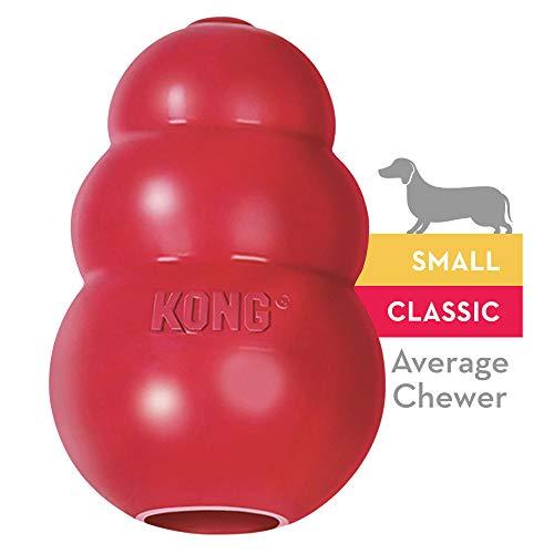 Kong Classic Hundespielzeug, Vollgummi, S