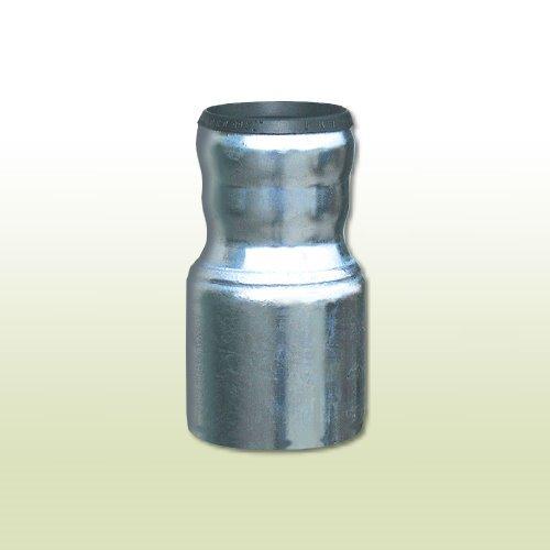 Dachrinne Adapter (Übergangsstück von KG-Rohr DN 125 auf Standrohr DN 100)