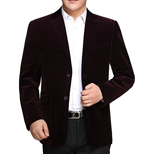 BiSHE -  Blazer  - Uomo Dark red brown