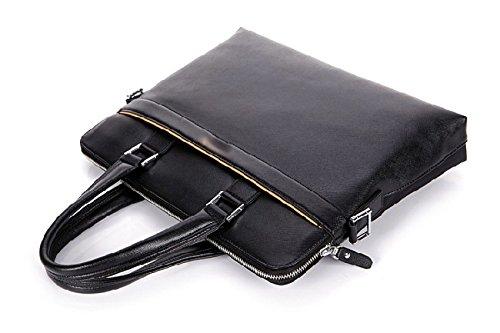 BULAGE Taschen Männer Oxford Schulter Hand Geschäft Einfach Elegant Dokumente Kratzfest Atmungsaktiv OneColor