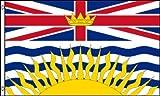 FLAGGE BRITISH COLUMBIA 150x90cm - BRITISCH-KOLUMBIEN FAHNE 90 x 150 cm - flaggen AZ FLAG Top Qualität