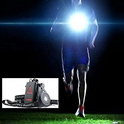 UltraStyle Nacht Lauflicht Wasserdichte Outdoor Sport Brust Lampe für Laufen Camping Backpacking Angeln Klettern Walking Jogging