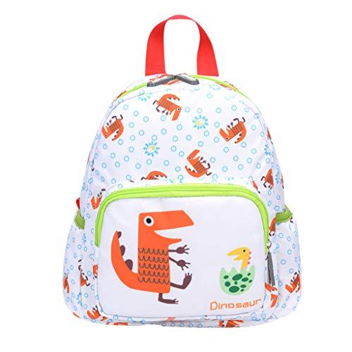 Dorical Rucksack für Kinder/Baby, Mädchen und Jungen, Cartoon Animal Schultasche, Backpack Schulrucksack,Umhängetasche,Family Travel Rucksack Tasche, Ausverkauf(Grün) (Große Cup-prothese)