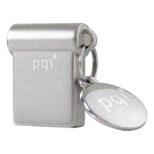 PQI i-Mini USB-Stick 16 GB USB Typ-A 2.0 Silber - USB-Sticks (16 GB, USB Typ-A, 2.0, Ohne Deckel, 4,9 g, Silber) -