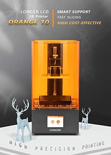 Orange 10 LCD 3D-Drucker Longer SLA Intelligente Unterstützung Schnelles Schneiden von UV-Licht aushärtendem UV-Harz 3D Drucker - 6