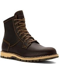 Timberland Hombres de Britton Hill Plain Toe Boot