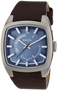 diesel dz1527 montre homme quartz analogique cadran bleu bracelet cuir marron amazon. Black Bedroom Furniture Sets. Home Design Ideas