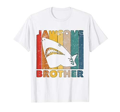 Jungen Jawsome Hemd Für Kleinkind Lustiges Bruder Hai Kostüm T-Shirt (Hai Kostüm Für Kleinkind)