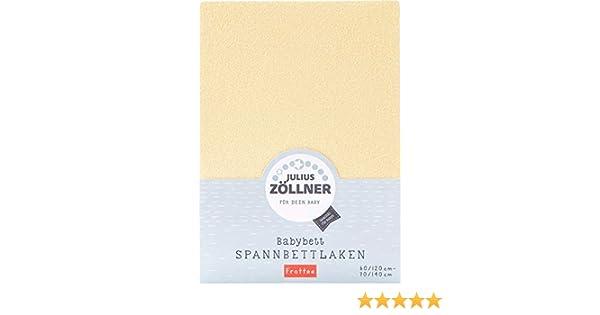 Julius Zöllner Spannbetttuch Spannbettlaken Jersey 90x40 anthracite 3er Pack