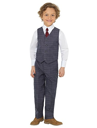 Shiny Penny Boys Suits, Page boy Suits, Waistcoat Suits, 3 Months - 8 Years