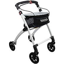 KMINA - Andador KMINA PRO Negro, Andadores Ancianos, Andador para adultos, Andador para