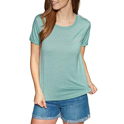 Roxy Damen Oceanholic Tee-Shirt, Aquifer, M -