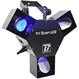BoomToneDJ Tri LED Scanner - luz psicodélica 3 LED
