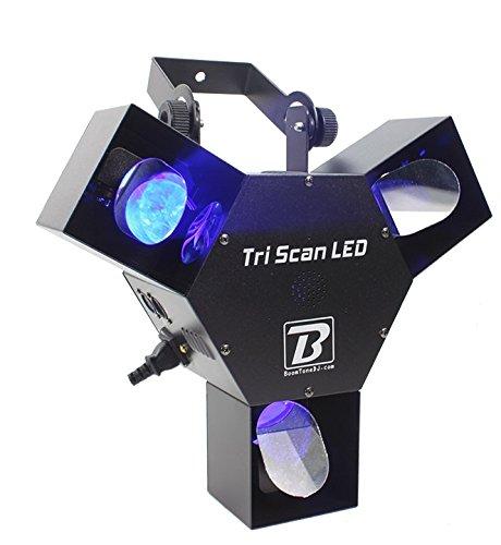 BoomToneDJ Tri LED Scanner blau