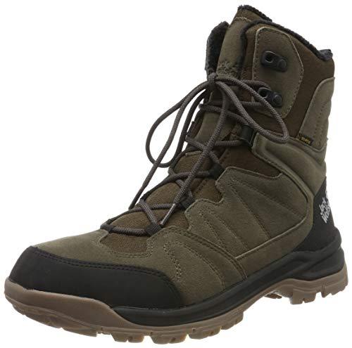 Jack Wolfskin Herren Thunder Bay Texapore HIGH M Wasserdicht Trekking-& Wanderstiefel, Braun (Coconut Brown/Black 5209), 42 EU