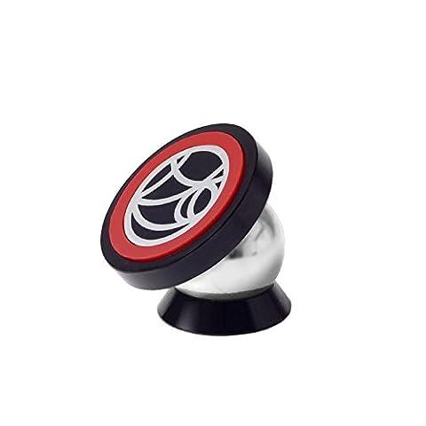 megadream Kit 360degrés Support magnétique pare-brise support de voiture pivotant universel avec compatibilité antidérapant pour Apple iPhone 6S 6Plus/5/5S/5C/Samsung Galaxy S7S6Edge Note 5Sony HTC Téléphone portable iPad Mini Tablette et appareil GPS