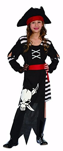 YOU LOOK UGLY TODAY Karneval Halloween Piraten Kostüme Costumes für Kinder Mädchen - (Tabellen Kinder Kostüme Von)