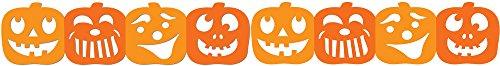 Halloween-Jumbo in Kürbisform Schablone geschnittene Grenzen (Meter pro 6 Stück-Ideal für Halloween zeigt und Dekorationen (CTP6821)