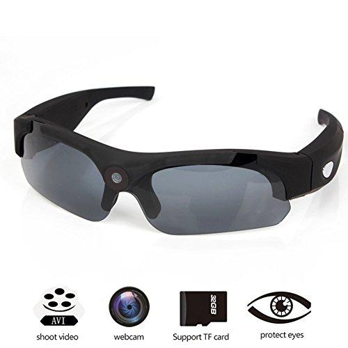 OOZIMO Brillenkameras – Volles HD 720P/1080P 8MP Kamera Tragbar Videokamera Zum Outdoor-Sportarten