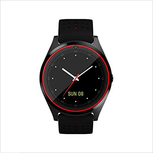 Human Smart Phone Uhr GPS-Positionierung Kamera Mehrsprachige Tracking-Anti-Verlorene Wasserdichte Uhr,Black