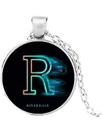65acfbcc08fe Riverdale Pops Betty Jughead Veronica Collar con cordón Negro Joyas  Colgante Juguetes