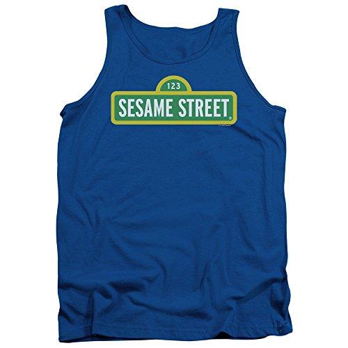 Sesame Street Herren Pullunder Königsblau
