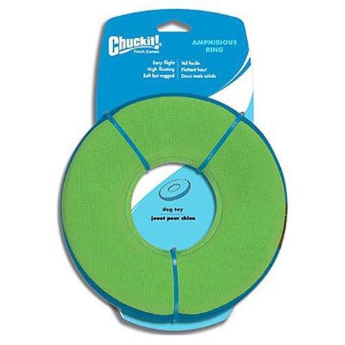 Chuckit! Zipflight Floating Frisbee and Steering Wheel Dog Toy, Medium