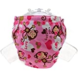 Reusable Baby Cloth Pocket Diapers One Size Adjustable Washable For Baby Girls And Boys Absorbent And No Leaks - B0737YPMJL