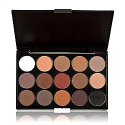 Ularma 15 Farben Lidschatten Palette Kosmetik Make-up Leicht zu tragen