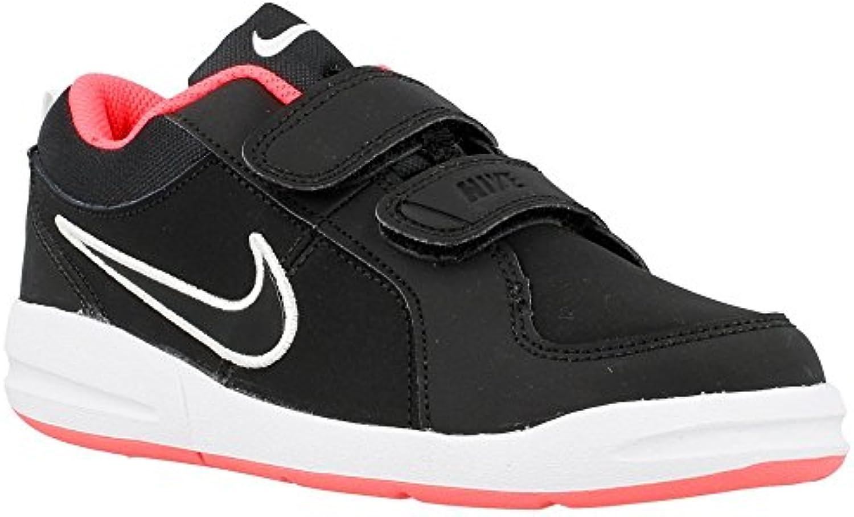 Nike Scarpe Kids Sneakers Pico 4 (PSV) in Pelle nera 454477 008