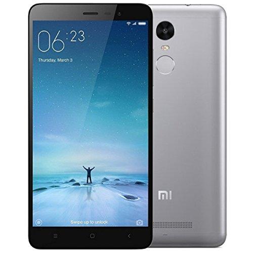 Xiaomi Redmi Note 4 - Smartphone da 14 cm (Dual SIM 4G, 32 GB, 13 MP, Android, 6.0 Marshmallow), Grigio scuro