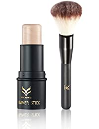 QHGstore Bronzer Stick Highlight Contour Stick Bronzer Brush 3D Face Makeup Concealer NO.2