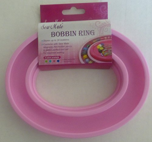 Sew Mate Bobbin Ring Bobbin Holder~Pink by Sew Mate -