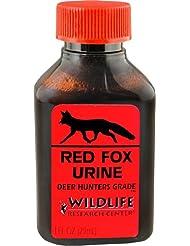 Investigación de Vida Silvestre 510 Red Fox Scent cubierta orina (onza 1-Fluid)