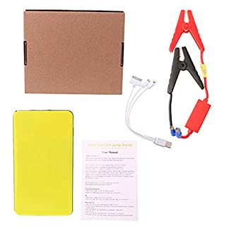 12 V 20000 mAh Multi-Function Car Jump Starter Power Bank Cargador de emergencia Booster recargable