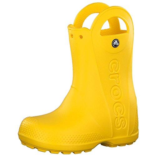 crocs Handle It Rain Boots Kids Yellow Größe 23-24 2018 Gummistiefel