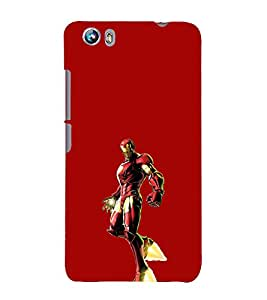 Ebby Printed back cover for Micromax Canvas Fire 4 A107(Premium Designer case)