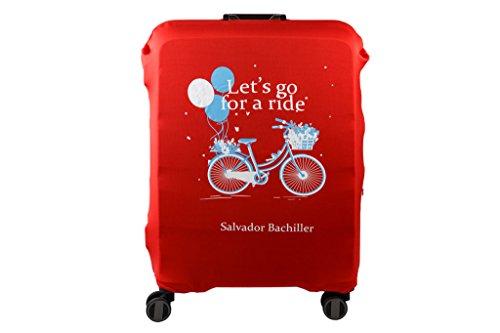 Salvador Bachiller - Funda Universal Bici Compl Viaj Lgz1707 Rojo L