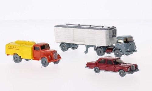 Set WIKING-VERKEHRS-MODELLE Nr.45, Modellauto, Fertigmodell, Wiking / PMS 1:87