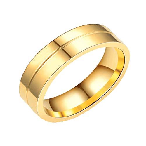 Floweworld Paar Ringe Stilvolle Und Einfache Neue Titan Stahl Paar Ring Mit Diamant Ring Schmuck Liebhaber Ring Geschenk -